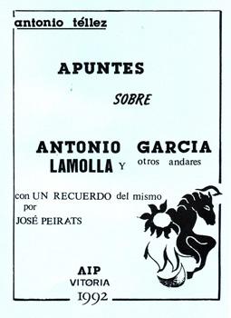 Apuntes sobre Antonio García Lamolla